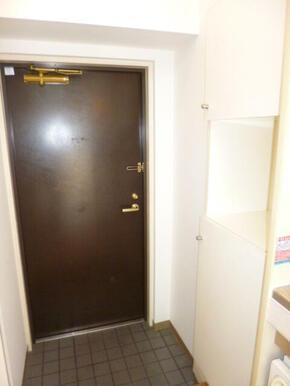 ゆとりのある玄関スペースです