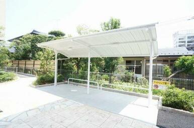 ◆入居者専用屋根付き駐輪場◆