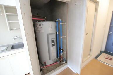 電気温水器です!