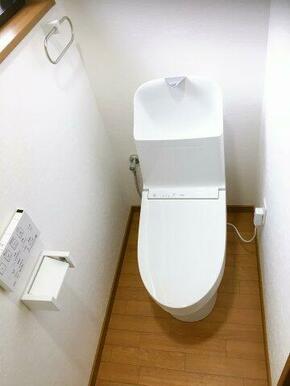 2階にもシャワー付きのトイレがあり、混みあった時も安心です。