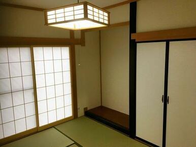 和室も綺麗に仕上がってます!
