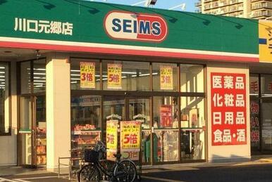 ドラッグセイムス川口元郷店