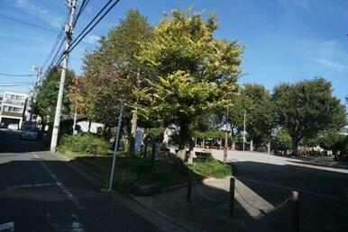 「中野区立城山公園」まで120メートル♪