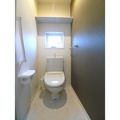 【トイレ】単身間取りではうれしい、バス・トイレ別!!快適生活♪
