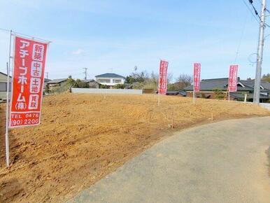 成田中学校近く、A区画販売中です。