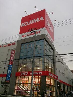 コジマビッグカメラ横浜大口店