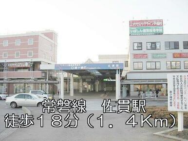 常磐線 佐貫駅