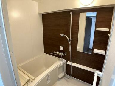 「浴室」新品交換していますので気持ちよく入浴できます。