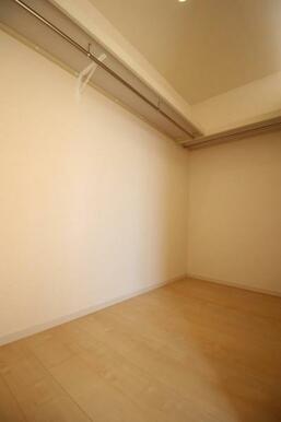 各居室に収納がついており、お部屋を広く使えます
