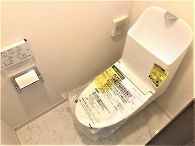 【トイレ】快適なウォシュレット付便座♪
