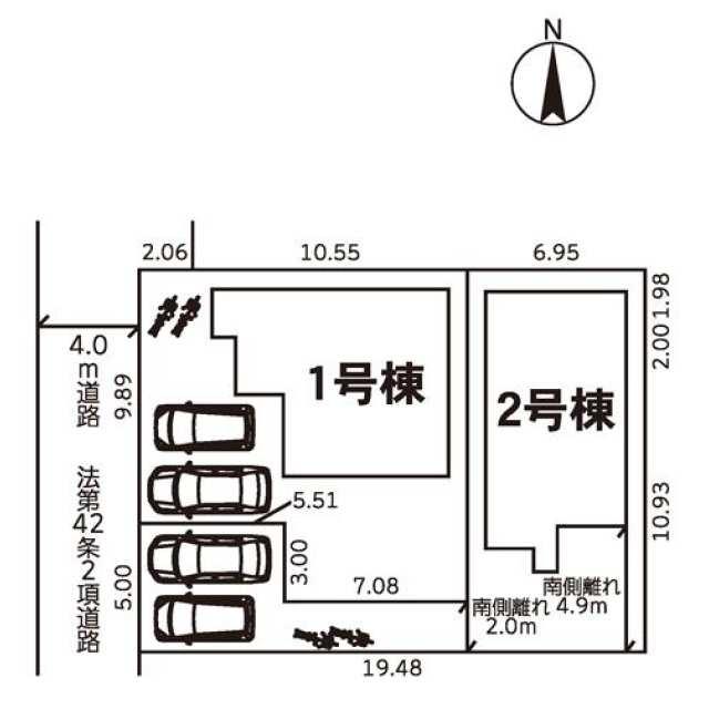 松戸市 六実5丁目 (六実駅) 2階建 3SLDK