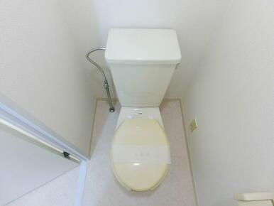 きれいなトイレです ※同タイプ別部屋のお写真です。