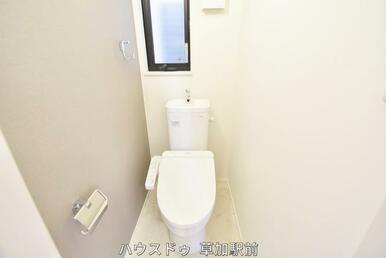 1階にトイレございます!