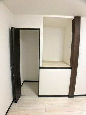 「2F南西洋室」 収納スペース付きです。