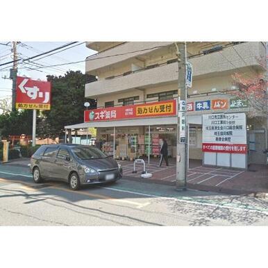 スギ薬局中青木店