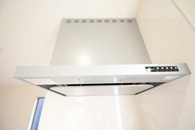 ワンタッチで簡単にお掃除ができる便利な換気扇