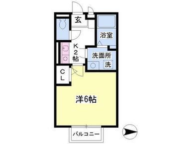 2階角部屋・洗面独立・浴室乾燥機・TVインターホン付き、日当り良好