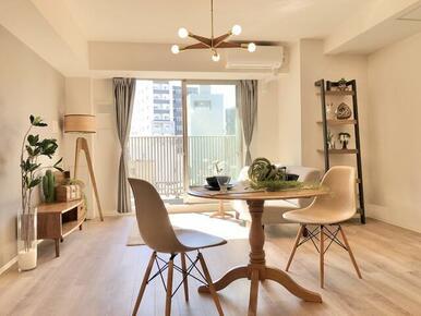 どんな家具を置こうかと考えるのが、楽しくなるお部屋です。