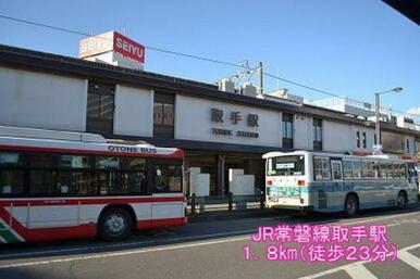 JR常磐線取手駅