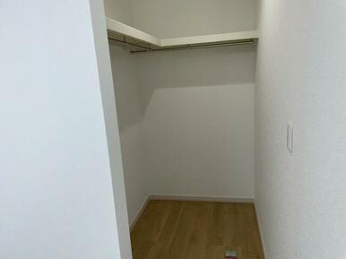 2階の各居室にはWICを配置。収納豊富です!