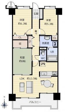 各居室、廊下に収納スペースあり♪