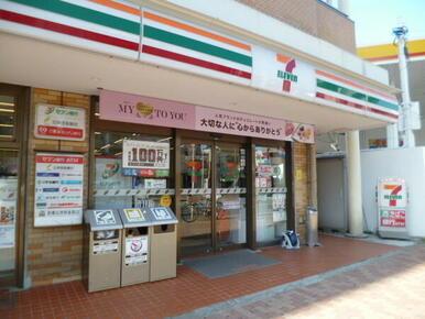 セブンイレブン大田区石川台店