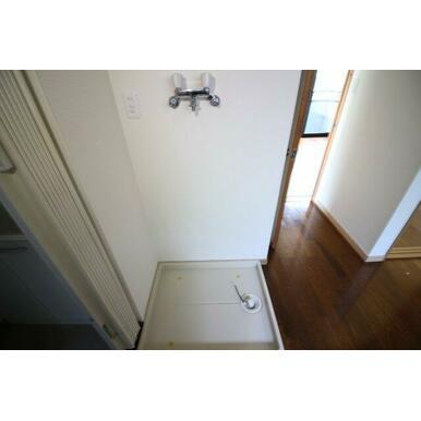 洗濯機置き場は室内にあります!