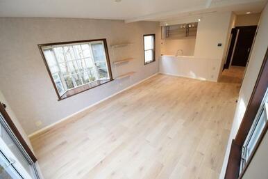 約20.5帖の広々リビングは憧れのあの家具も置けるゆったりスペース