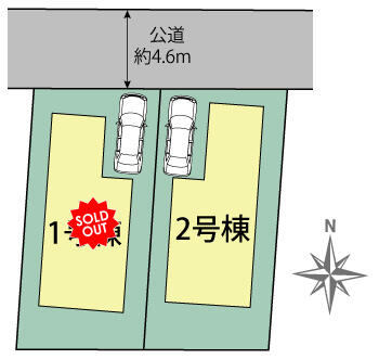 川崎市宮前区菅生6丁目区画図