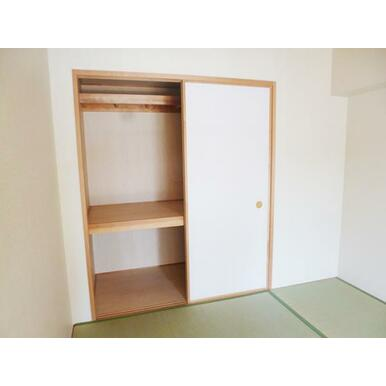 「設備」約6帖和室収納