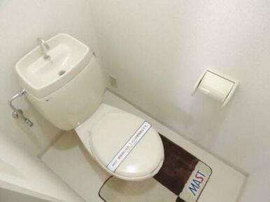 自分だけのホッとする空間。トイレで快適なひと時を♪