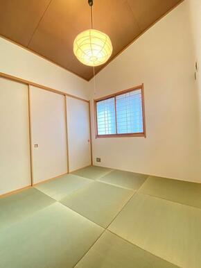 新品交換済みの和室です。