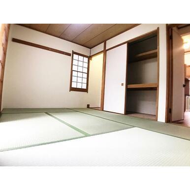 1階和室。畳表替え済みです。