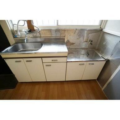 ガスコンロ設置可能キッチン