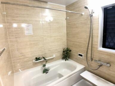 UB新設「ゆったりくつろげる浴室で1日の疲れを癒します」