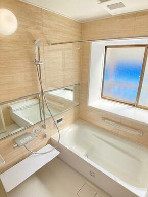 新品交換済み浴室