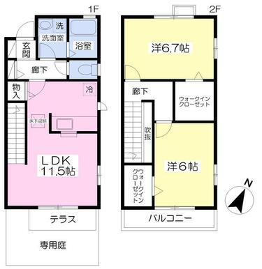 2LDK・65.11平米♪