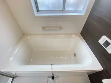 広々とした浴室です。お風呂が楽しみなりそうです。