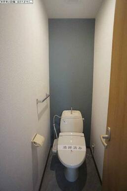 トイレは洗浄機能付き便座♪