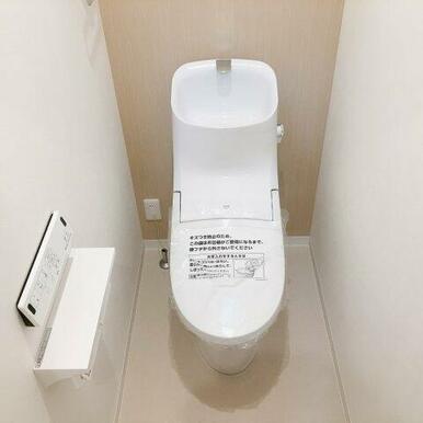 INAXフチレストイレ!お掃除楽々です!