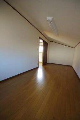 2階納戸(屋根裏)