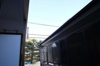 窓からの景色です。