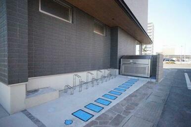 ■入居者専用駐輪場■
