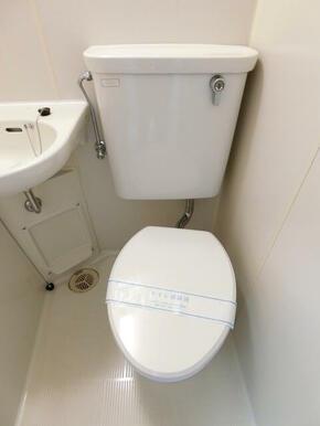 ★バストイレ同室です★