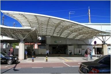 JR武蔵野線南越谷駅徒歩21分のところにあります!