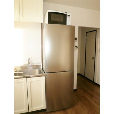 冷蔵庫・電子レンジ付です