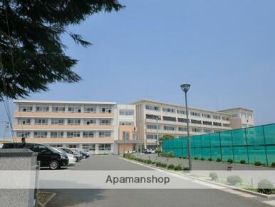 岩手県立一関第一高等学校附属中学校職員室