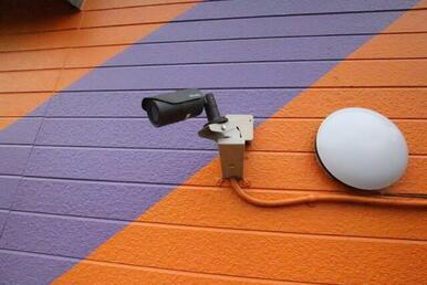 防犯カメラ設置されているのでセキュリティも安心です♪