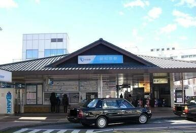 小田急線・新松田駅
