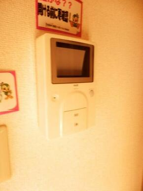 ★安心モニターホン★同タイプ別部屋の写真